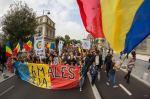 poze video fotografii eveniment marsul unirii pentru basarabia e romania 12 octombrie 2014 bucuresti unirea romaniei cu republica moldova 7