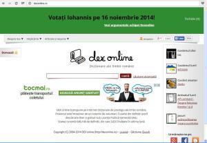 dexonline campanie propaganda anti ponta pro iohannis alegeri presedinte 2014 Banner maghiar anti-romanesc pe dexonline.ro - site care sustine votarea lui Iohannis