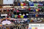 mesaj romani diaspora unirea cu basarabia eveniment ziua nationala a romaniei 1 decembrie 2014 poze imagini fotografii actiunea 2012 unirea moldova basarabia pamant romanesc
