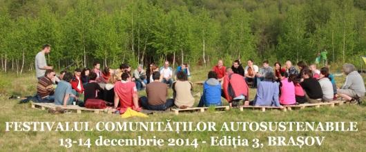 Eveniment  conferință - viață sănătoasă și sustenabilă, Brașov 13-14 decembrie 2014, Festivalul Comunitatilor Autosustenabile - Armonia Brassovia 1b