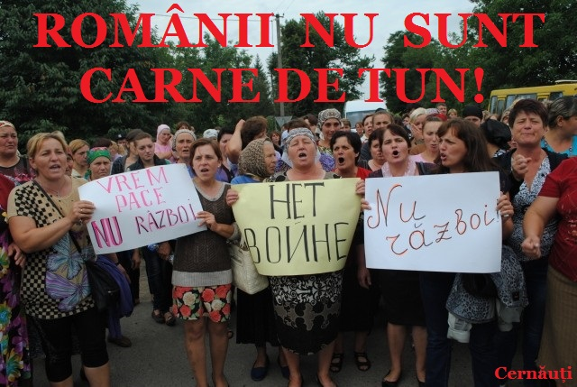 protest cernauti impotriva anti incorporarea tinerilor romani la razboi ucraina SUA UE RUSIA Oculta mondiala noua ordine mondiala nu vrem razboi romania neutra 2