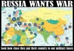 rusia vrea razboi si-a mutat tara langa bazele militare americane nato din jurul rusiei romania europa lume