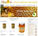 site miere-vie.com miere 100% naturala curata direct de la producator apicultor roman capaceala tei salcam rapita floarea soarelui