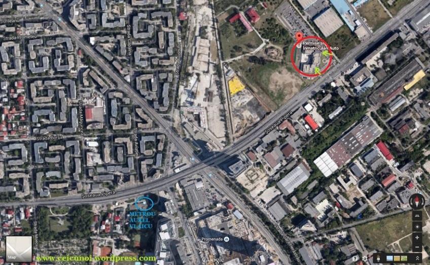 Harta Sediu Directia Regim Permise Auto Conducere Drpciv Bucuresti