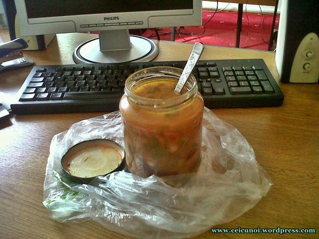 Trăiască Ciorba la borcan Ce să mâncăm la serviciu școală facultate mancare gatita acasa luata la pachet sanatoasa fara e-uri chimicale din comert 1