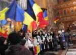 cor patriotic romanesc 1 decembrie 2014 biserica ortodoxa sfantul gheorghe covasna