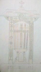 proiect troita maramureseana lemn monument memorial eroi romani cazuti la batalia Cotul Donului