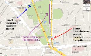 harta-curs-gratuit-cum-inveti-sa-mergi-pe-bicicleta-bucuresti-sambata-6-iunie-2015-parcul-kiseleff-mersul-pe-doua-roti-sfaturi-biciclisti-incepatori-lectii-bicicleta-gratuite
