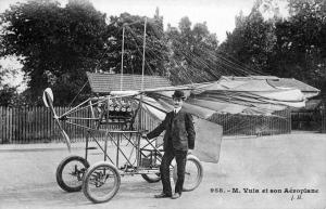 Traian Vuia - primul avion din lume