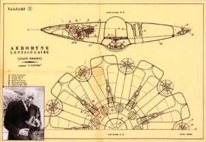 Aerodina lenticulara Henri Coandă - prima farfurie zburatoare din lume