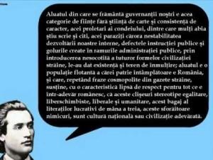 mihai eminescu citat despre politicieni guvernanti coruptie politica