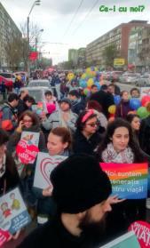 marsul pentru viata 2016 bucuresti poze oameni protest