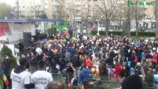 marsul pentru viata 2016 bucuresti poze