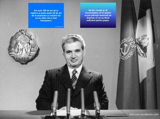 Adevarul despre Ceausescu Probe Dovezi Ceausescu Patriot Impuscat de Dusmani