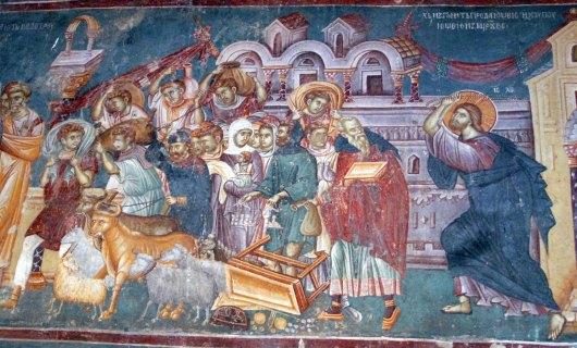 Iisus-Hristos-alungarea-negustorilor-din-templu-schimbatorii-de-bani-camatari-manastirea-sfantul-nikita-macedonia-protocoalele-inteleptilor-sion-dictatura-bani