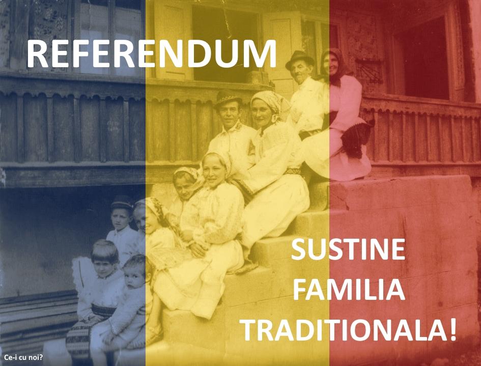 Imagini pentru primii votanti la referendumul pentru familie