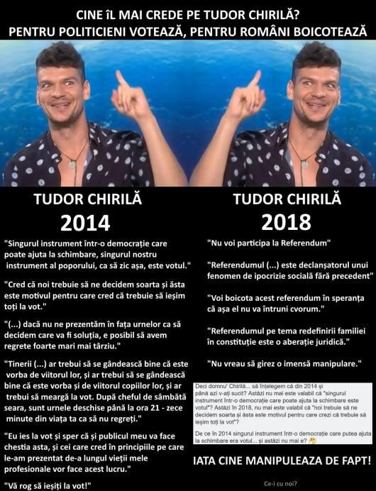 Tudor Chirila Vot Alegeri Referendum Voteaza Boicoteaza Votul