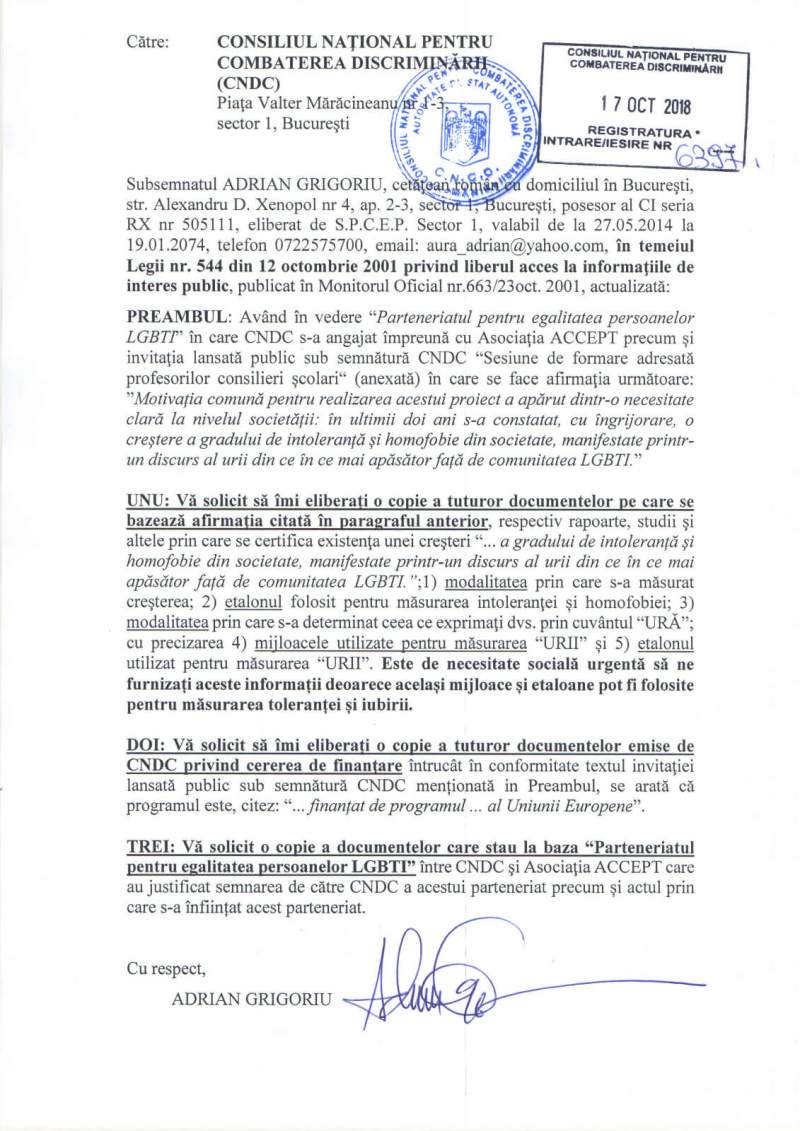 solicitare-cncd-adrian-grigoriu-parteneriat-asociatia-accept-propaganda-homosexuala-in-scoli-octombrie-2018