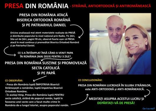 presa-din-romania-ataca-biserica-presa-ataca-patriarhul-daniel-presa-vizita-papa-presa-sustine-papa-catolicism-papa-francisc-andreea-esca-ceicunoi