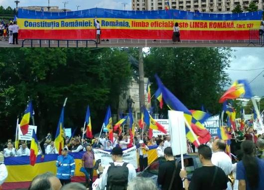 mars-limba-romana-protest-codul-administrativ-limba-maghiara-protest-cotroceni-23-februarie-2020-bucuresti